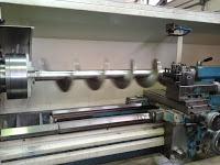 Máquina aplicación margarina mecánizado eje sinfin en toda su longitud (2)