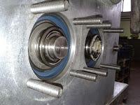 Máquina aplicación margarina montado de piñones (4)