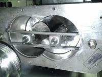 Máquina aplicación margarina sinfin acoplado a depósito